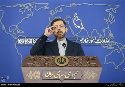 نشست خبری سعید خطیبزاده سخنگوی وزارت امور خارجه جمهوری اسلامی ایران