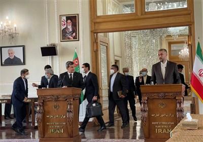 امیرعبداللهیان: سند همکاریهای مشترک ایران و ترکمنستان مورد بازنگری قرار میگیرد
