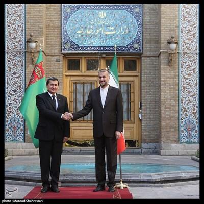 دیدار وزرای امور خارجه ایران و ترکمنستان