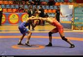 مسابقات لیگ برتر کشتی آزاد کشور در تبریز به روایت تصویر