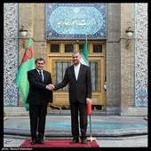 دیدار وزرای خارجه ایران و رشید مردوف معاون رئیس کابینه وزرا و وزیر امور خارجه ترکمنستان