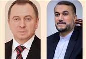 مشاورات ایرانیة - بیلاروسیة بشان الرعایا الایرانیین العالقین على الحدود اللیتوانیة