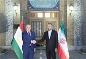 تأکید وزرای خارجه تاجیکستان و ایران بر ضرورت توسعه روابط دوجانبه