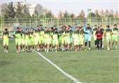 پایان اعتصاب در مشهد؛ بازیکنان پدیده با میثاقیان تمرین کردند + تصاویر