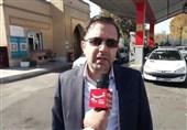 ازسرگیری سوخترسانی در زنجان / اکثر جایگاهها وارد مدار عرضه بنزین شدند + فیلم