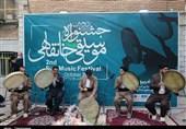 اختتامیه جشنواره موسیقی خانقاهی در سنندج + تصاویر