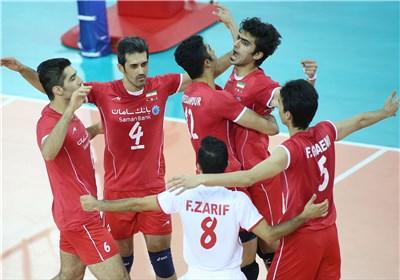 والیبال ایران برزیل