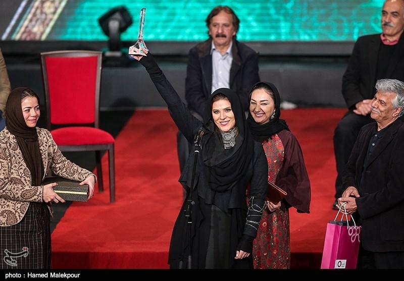 ع های بازیگران در اختتامیه جشنواره فجر 93