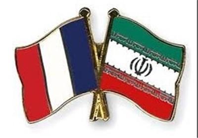 پرچم ایران فرانسه