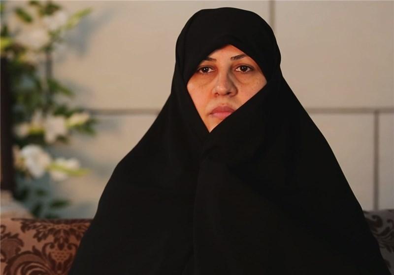 مادر شهید مسعود عسکری