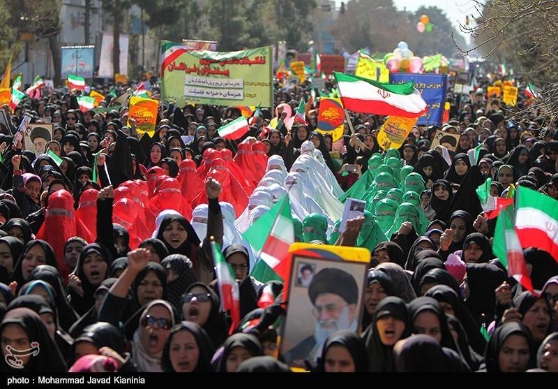 22 بهمن در کرمان