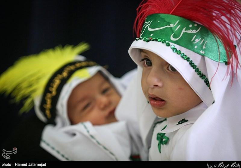 نمایش حضور سربازان آینده زمان(عج) در مصلای تهران+ع و