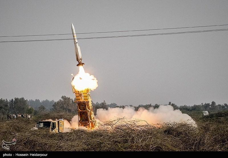 شلیک موشک از سامانه پ ند هوایی صیاد-2 + ع