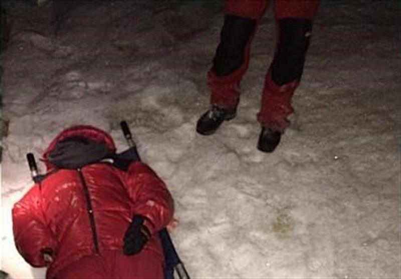 گرفتار شدن دو کوهنورد در توچال