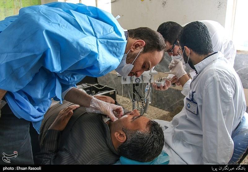 خدمات پزشکی فرهنگی قرارگاه جهادی رضا(ع) در روستای سرحانیه مشهر