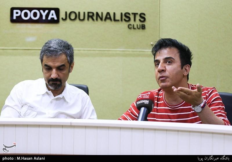 حضور عمو گ در باشگاه خبرنگاران پویا