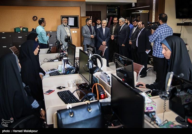 حضور محمدباقر نوبخت در خبرگزاری تسنیم