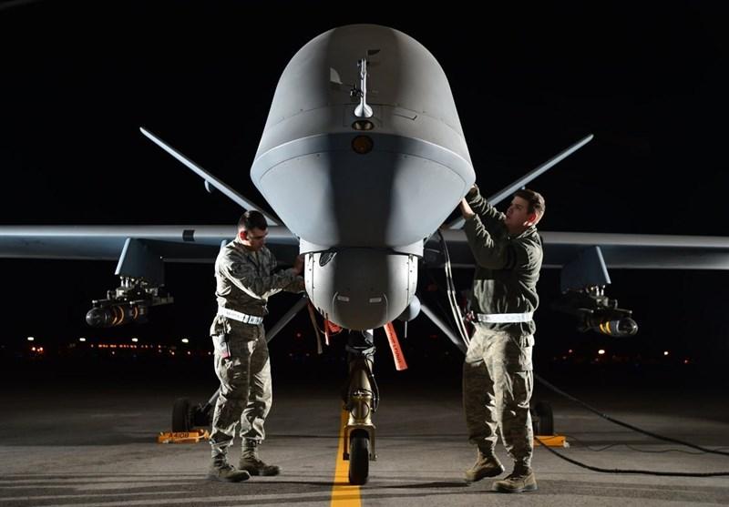 تحولات یمن| حمله پهپادی به پایگاه هوایی الملک خالد؛ سرنگونی هواپیمای جاسوسی م ان در الجوف