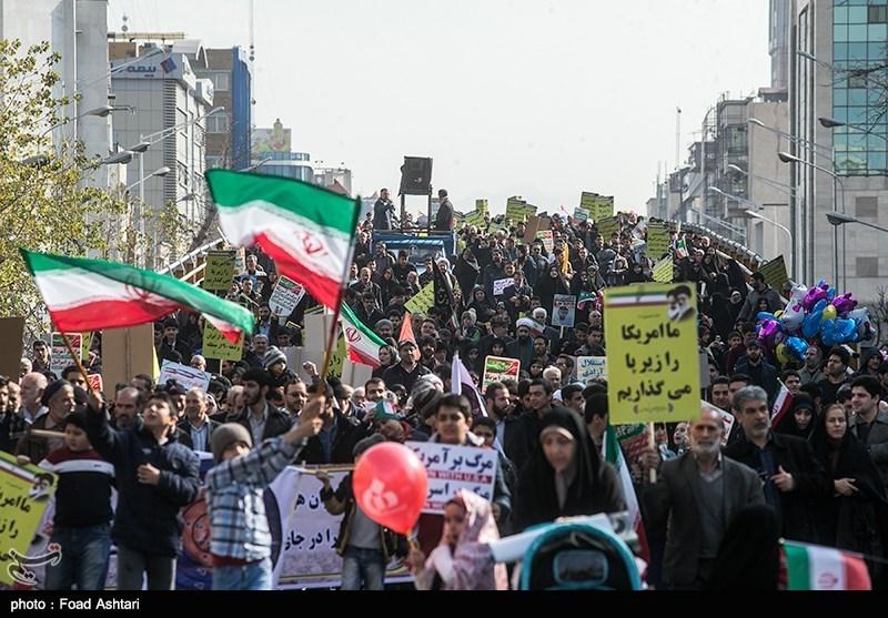 22 بهمن در خیابان انقلاب