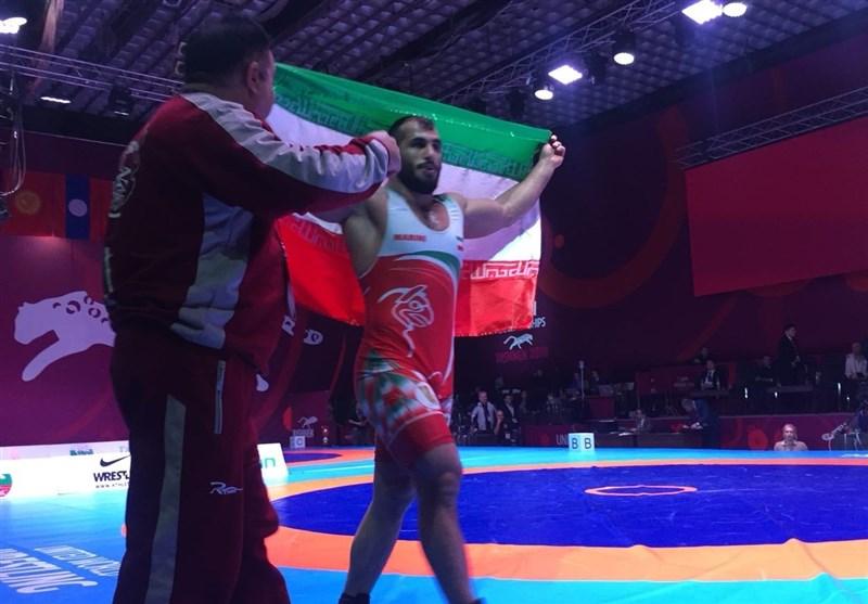 کشتی قهرمانی آسیا| صالحی زاده صاحب گردن آویز طلا شد/ تیم ایران با 3 طلا و یک نقره در رده پنجم ایستاد