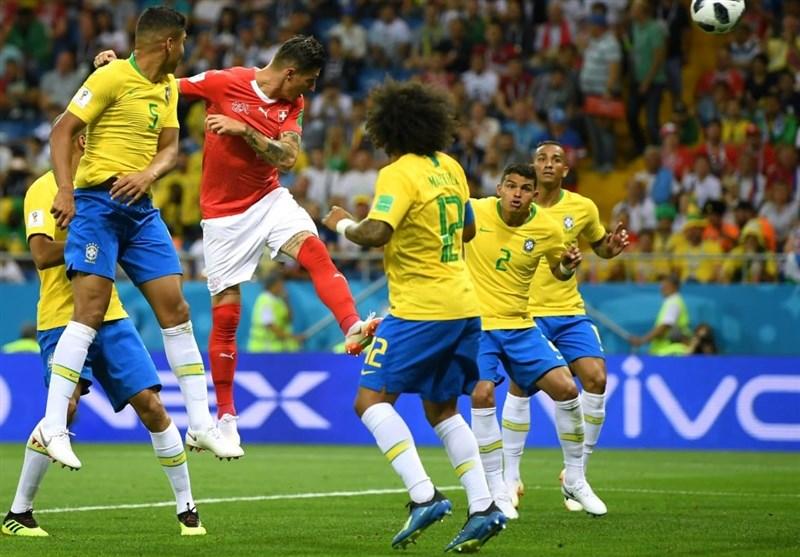 جام جهانی 2018  شگفتی ها تکمیل شد؛ توقف برزیل مقابل سوئیس در همین ابتدای کار